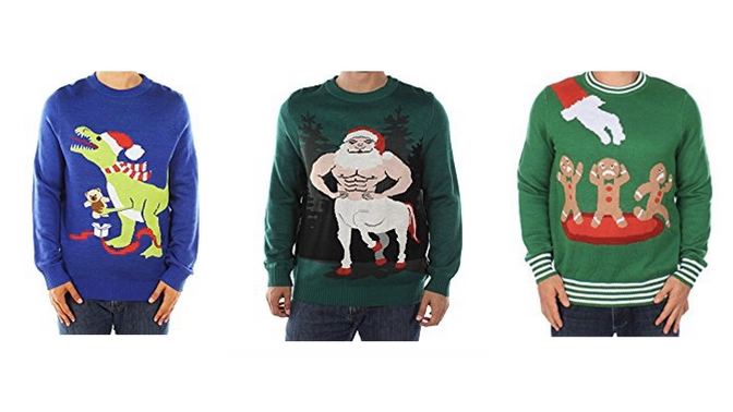 Tipsy Elves Vegan Ugly Christmas Sweater