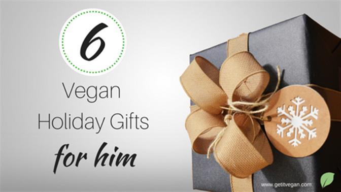 Top 6 Vegan Gifts for Him Under $50