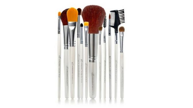 e.l.f. Cosmetics 12 Piece Vegan Makeup Brush Set