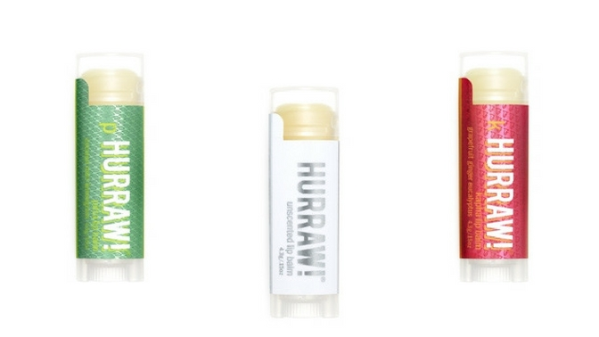 Hurraw! Vegan Lip Balm