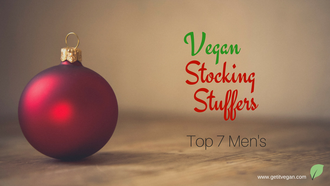 Top 7 Men's Vegan Stocking Stuffers