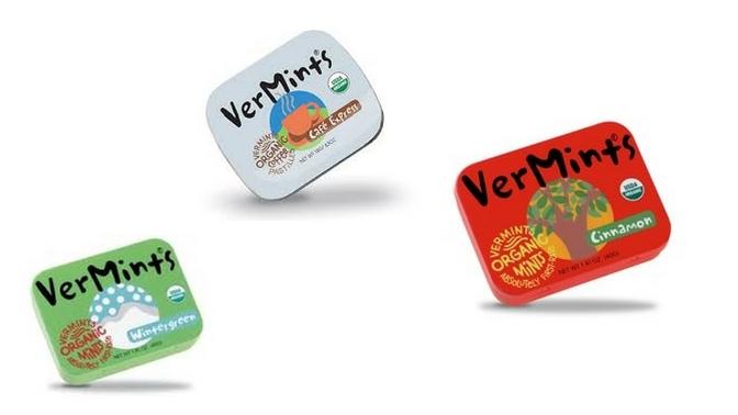 VerMints Vegan Organic Mints