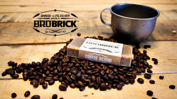 Bro Brick Coffee Scrub Scent