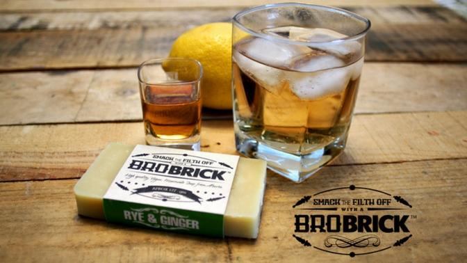 Bro Brick Rye & Giner Scent