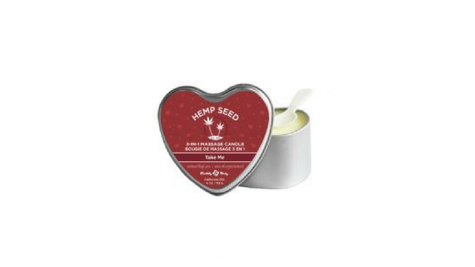 Earthly Body Edible Massage Oil Candle