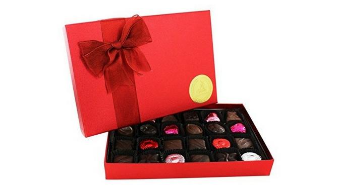 Sjaak's Vegan Dark Chocolate Valentine's Day