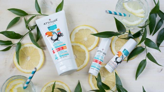 ATTITUDE Mineral Sunscreen & Face Stick