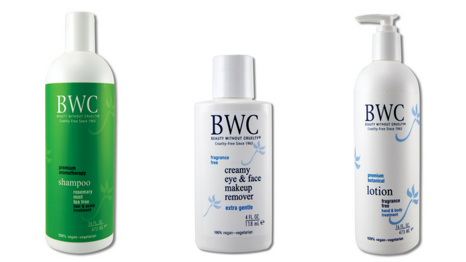 The Eye and Face Makeup Remover, Rosemary-Mint-Tea Tree Shampoo, Unscented Hand & Body Lotion Beauty Without Cruelty
