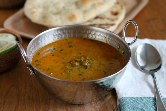 Mung Bean & Coconut Curry by The Muffin Myth