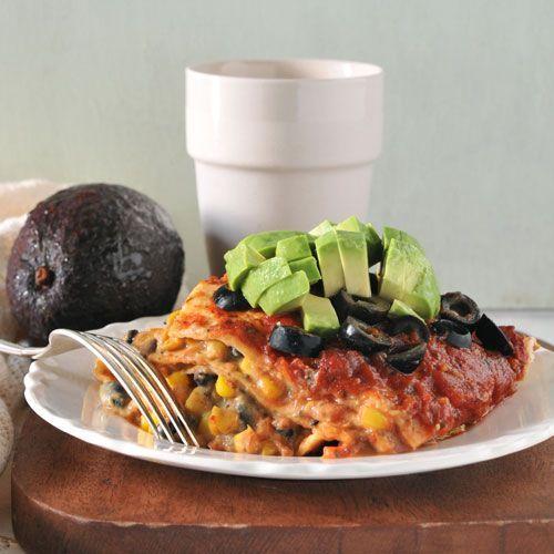 Taco Lasagna feat. Vegan Nacho Chee Zee Sauce by Bake & Destroy