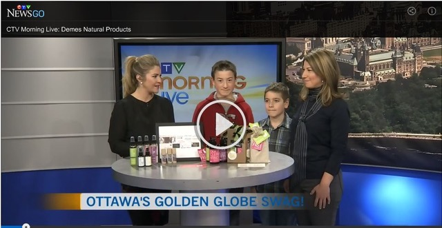 The DEMES team on CTV
