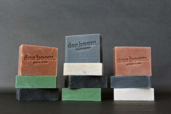 Men's bar soap from das boom Industries