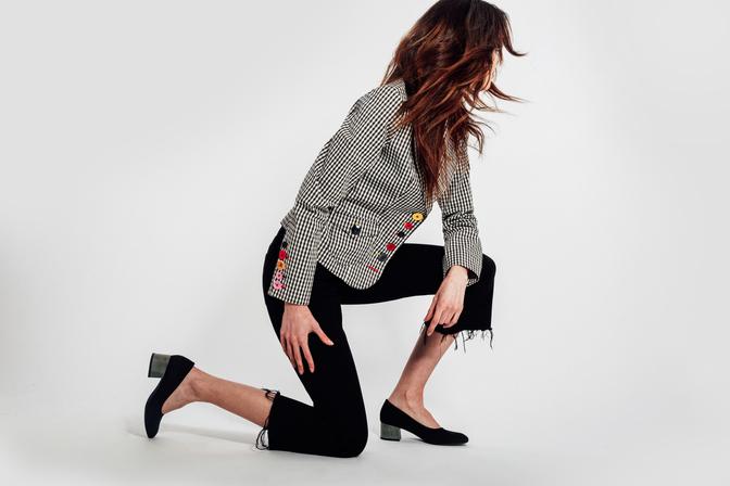 Bourgeois Boheme AW17 Zaha EcoStone Heel