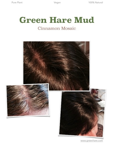 Cinnamon Mosaic Green Hare Mud
