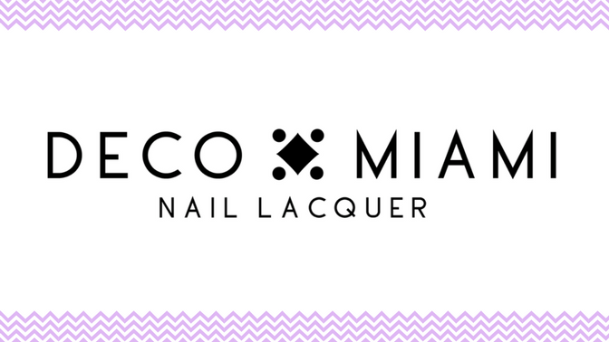 Deco Miami vegan cruelty free nail polish