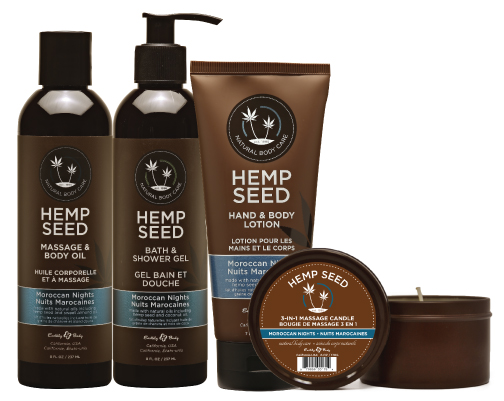 Moroccan Nights by Earthly Body's Hemp Seed brand