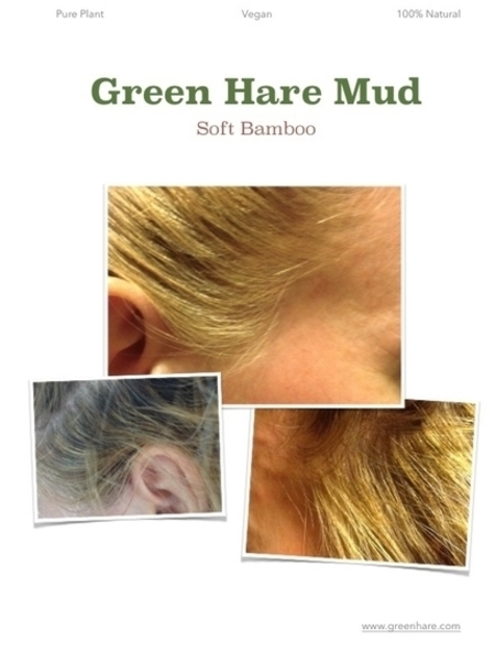 Soft Bamboo Green Hare Mud