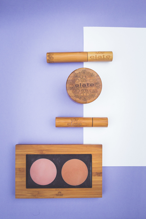 Elate's sustainably packaged beuaty products