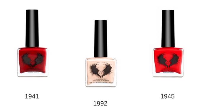 la cc nail polish colours 1941, 1941, 1992