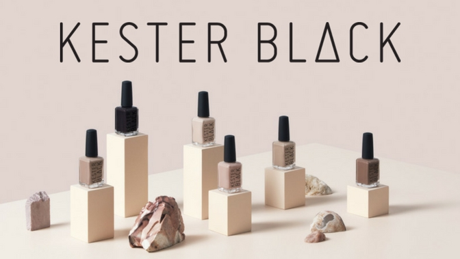 Kester Black Vegan Cruelty Free Nail Polish