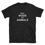 Killin WODs Not Animals Mens Tee, Get it Vegan
